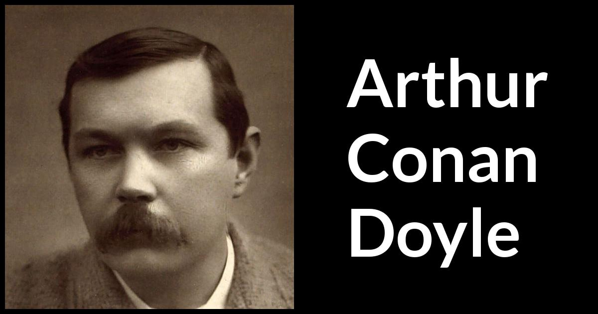how conan doyle builds tension in The final problem and the reichenbach fall: character, context & genre sir arthur conan doyle has included a reasonable amount and to build.
