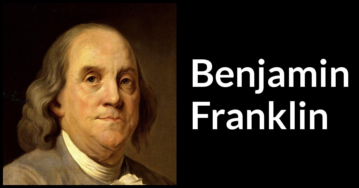 tis hard for an empty bag to stand upright Franklin began publishing poor richard's almanack on december 19,  tis easy to see, hard to foresee  an empty bag will not stand upright.