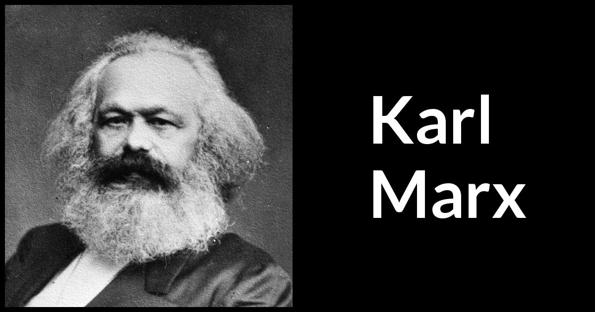 an analysis of quote of karl marx