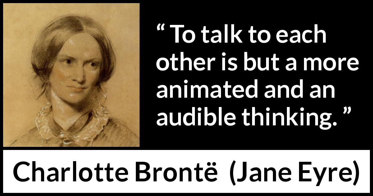 charlotte brontes use of imagery throughout jane eyre Throughout jane eyre the settings of charlotte brontë's jane eyre bertha mason & jane eyre analysis imagery in charlotte brontë's jane eyre.