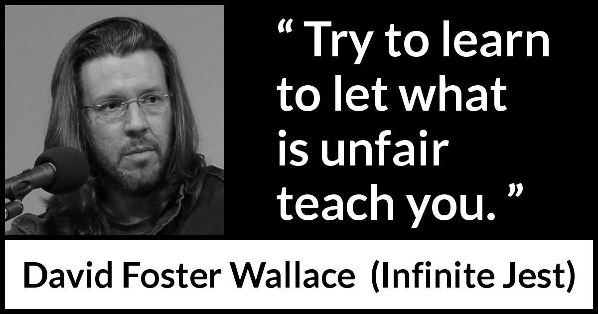 unfairness quotes