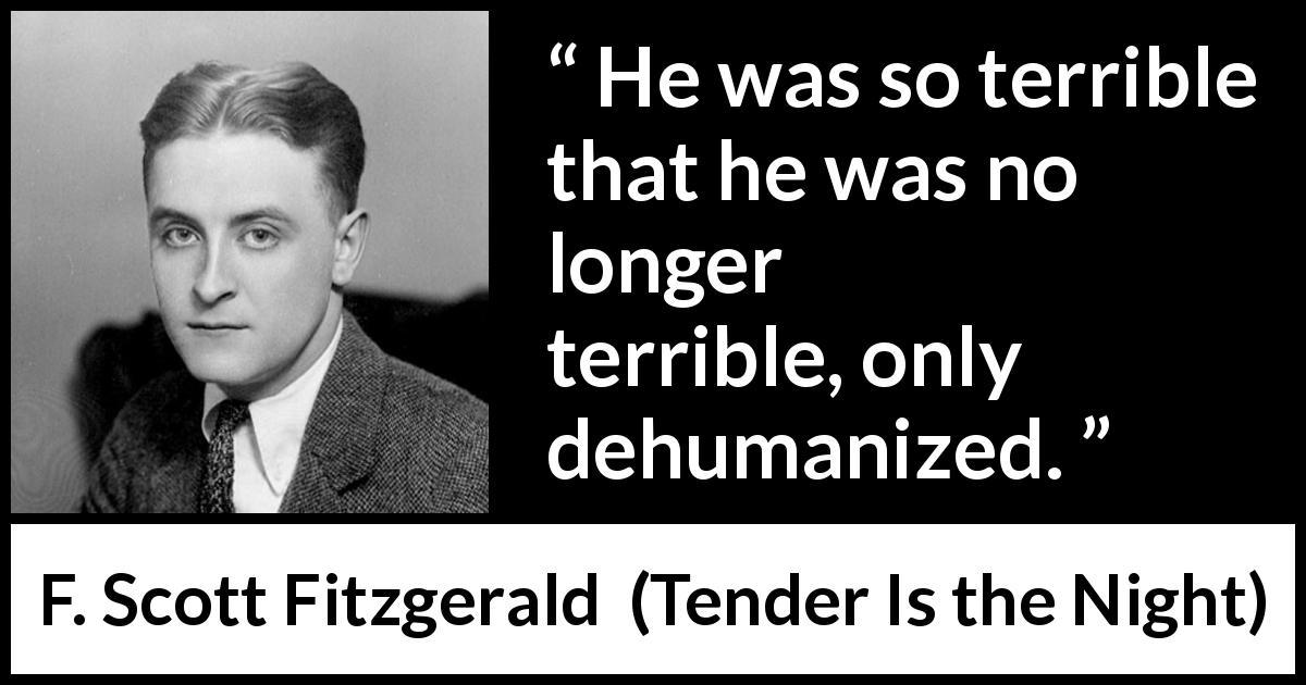 dehumanization quotes