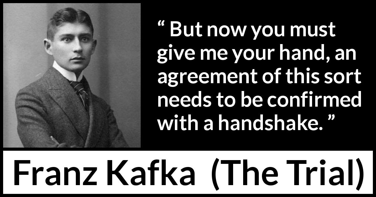 handshake quotes