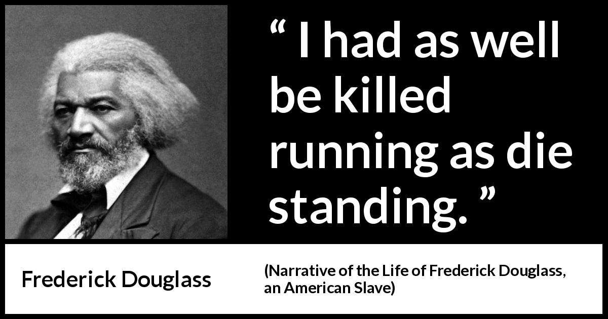 """an analysis of the life of frederick douglass an american slave A masterpiece of african american literature, frederick douglass's """"narrative"""" is the powerful story of an enslaved youth coming into social and moral consciousness by disobeying his white slavemasters and secretly teaching himself to read achieving literacy emboldens douglass to resist, escape, and ultimately achieve his freedom."""