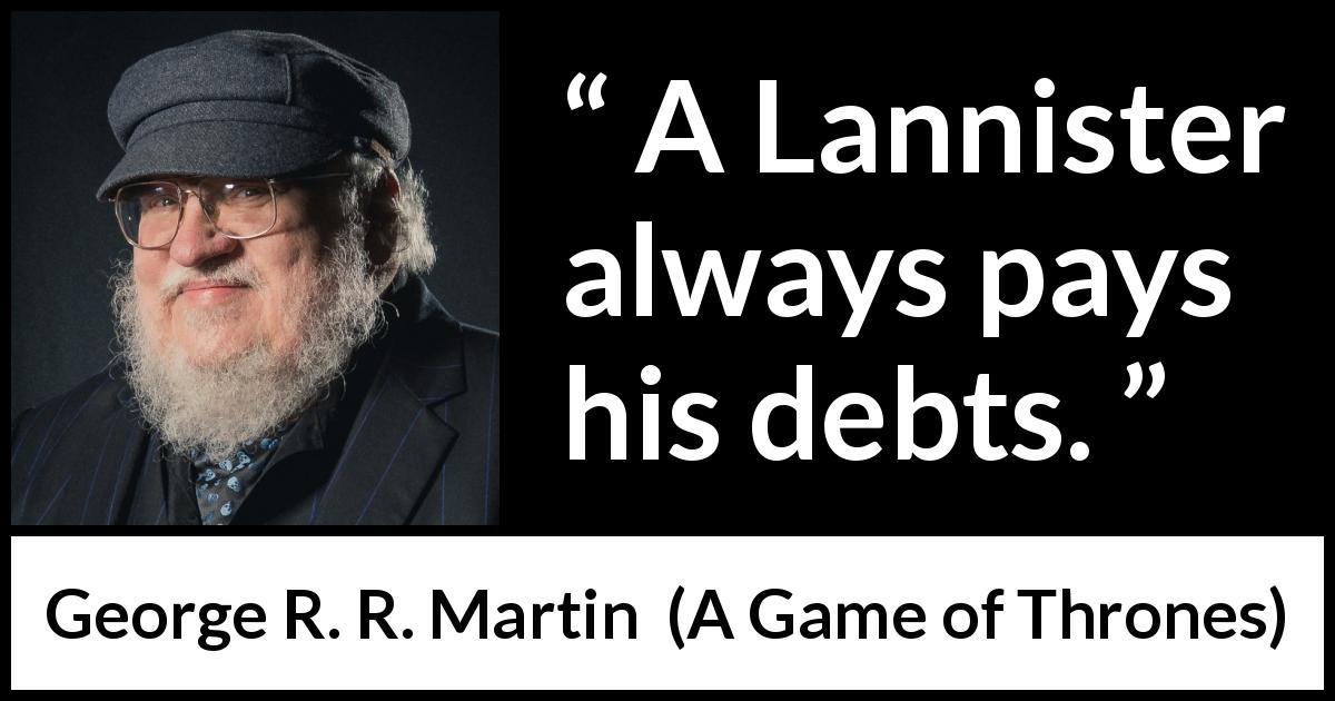 debts quotes