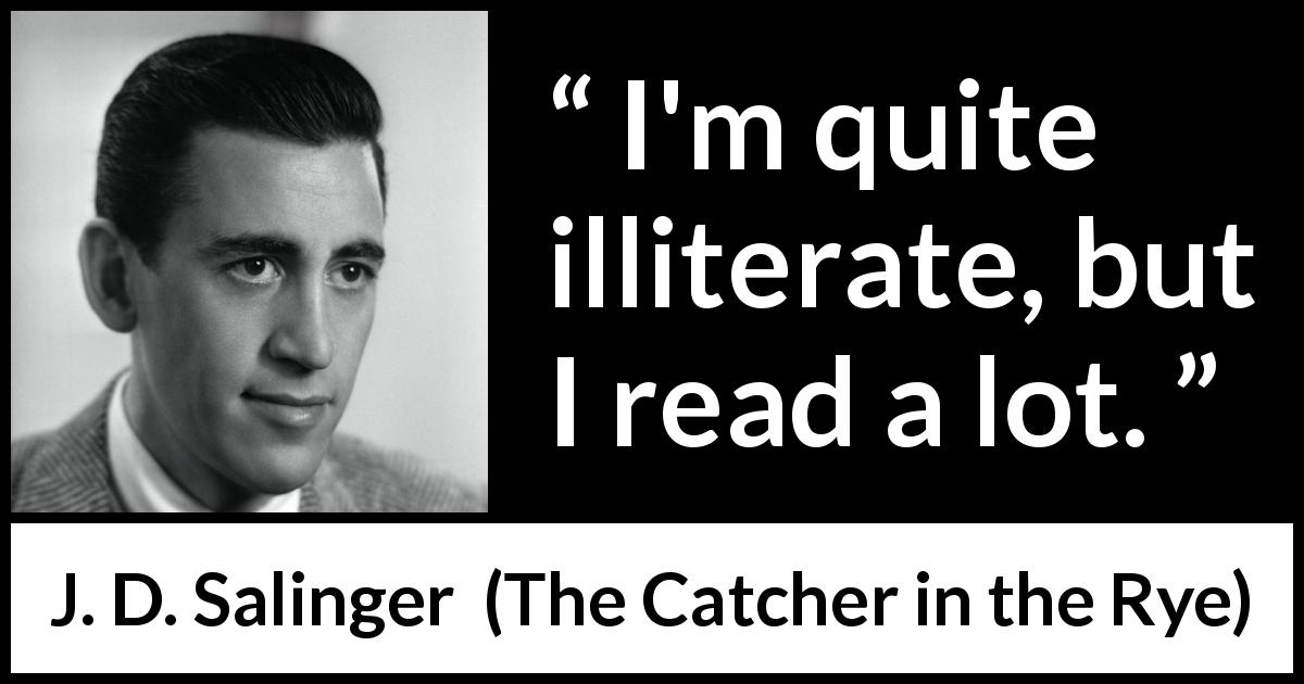 j d salinger and catcher