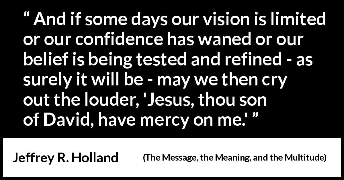mercy quotes