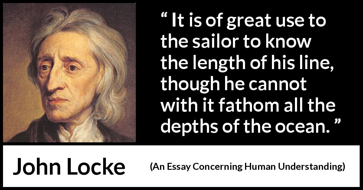 locke essay concerning human understanding gutenberg The project gutenberg ebook of an essay concerning humane understanding, volume i, by john locke this ebook is for the use of anyone anywhere at no cost and with.