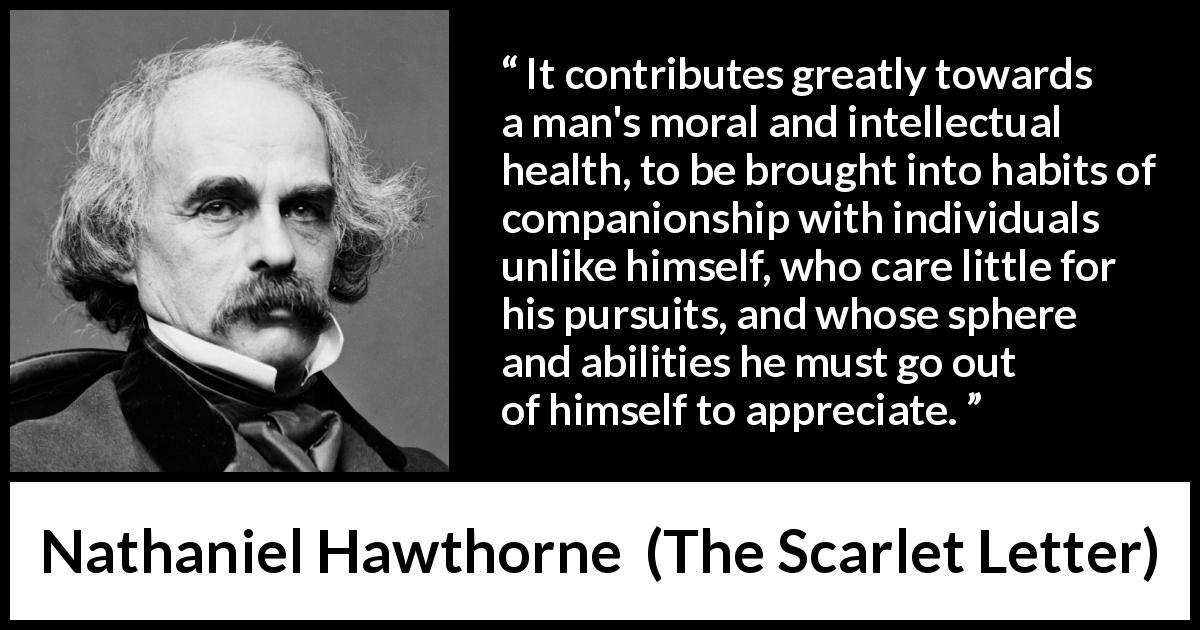 moral of the scarlet letter