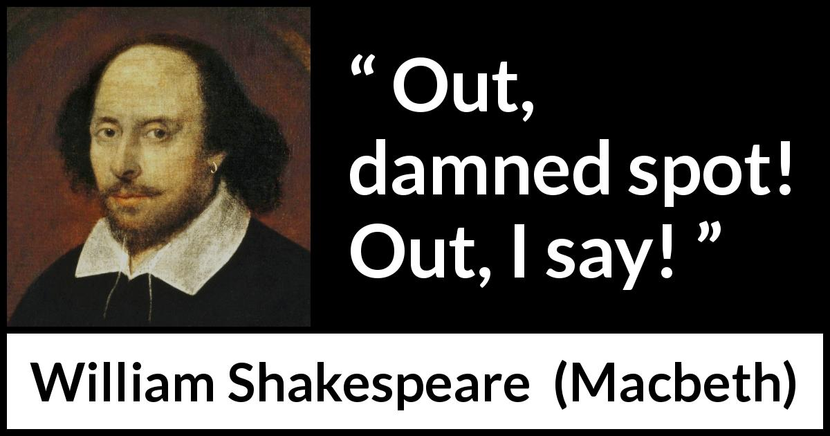 the impact of guilt in william shakespeares macbeth
