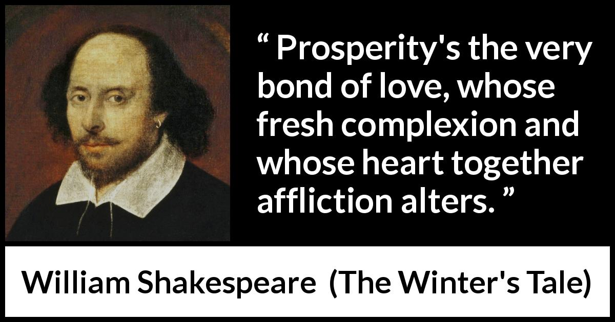 hate and love in william shakespeares the winters tale