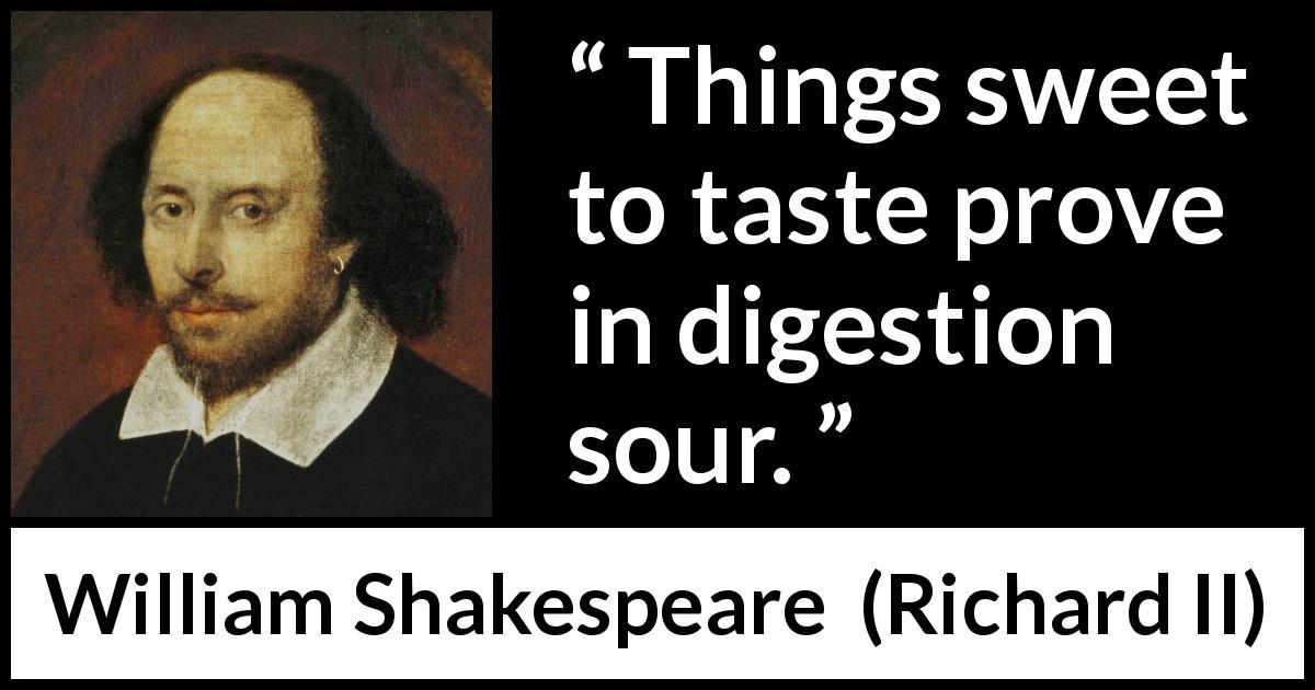 sweetness quotes